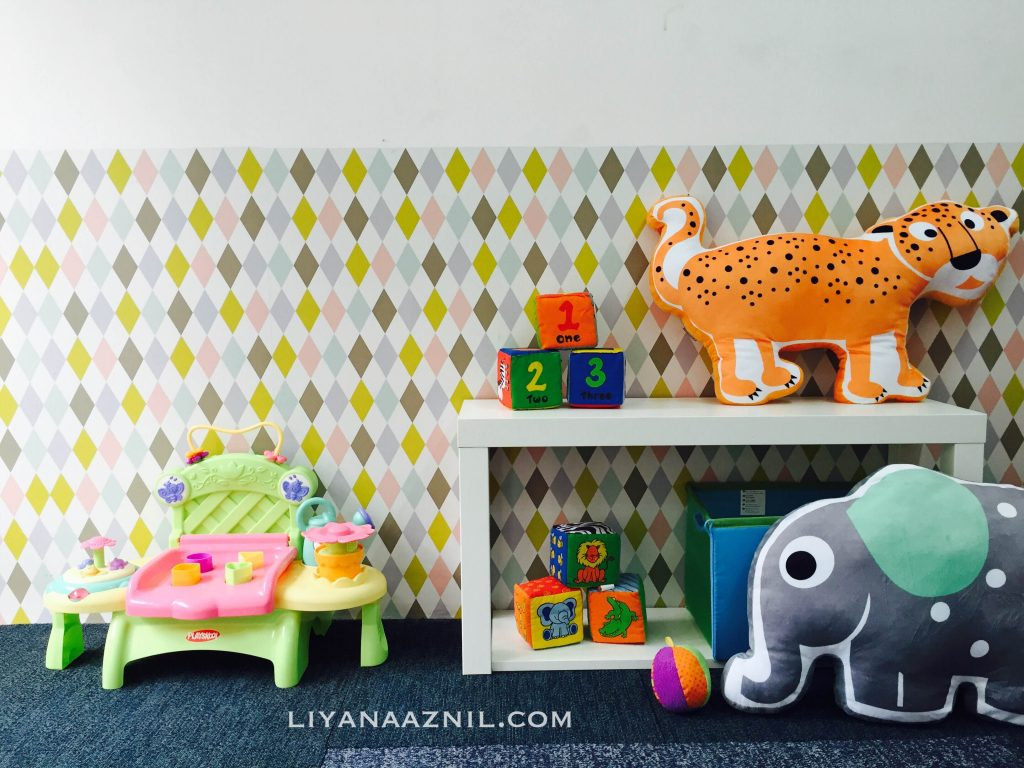 Coway TTDI playroom - Toddler friendly