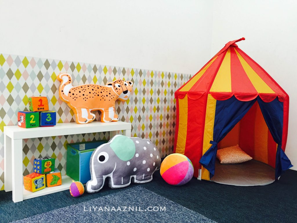 children's playroom at coway ttdi – doodles of my mind