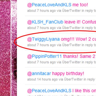 Kimora replied again! :D :D :D