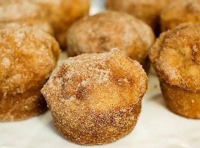 Cinnamon muffins galore!